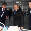 Нурсултан Назарбаев посетил несколько объектов вКостанайской области