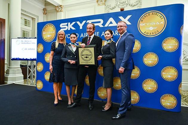 Эйр Астана вседьмой раз признана лучшей вЦентральной Азии иИндии