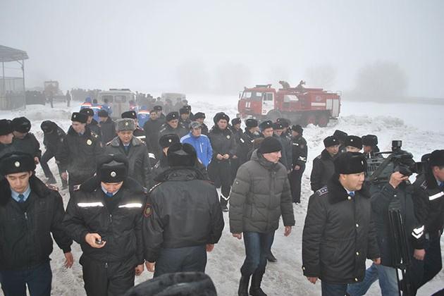 Причина крушения самолета под Алматы еще не установлена
