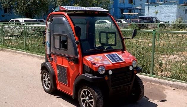 В Кентау презентовали электромобиль