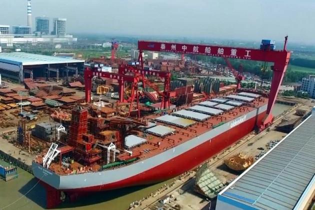 Две крупнейшие судостроительные компании Китая готовятся к слиянию