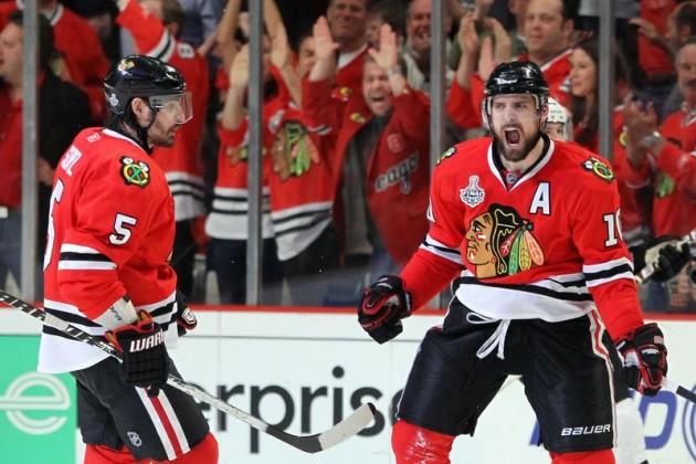 «Чикаго» вырвал победу у «Бостона» в  первом матче финала Кубка Стэнли