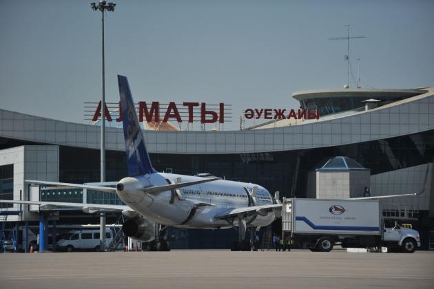 Аэропорт Алматы теряет по 1 млн долларов ежемесячно