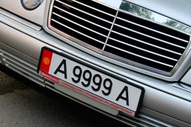 Из Алматы вывезли 20 кыргызских автомобилей