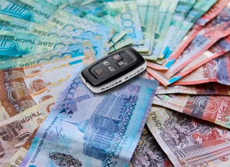 Алматинцы платят четверть транспортных налогов