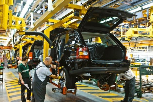Jaguar Land Rover перевел натрехдневную рабочую неделю один иззаводов
