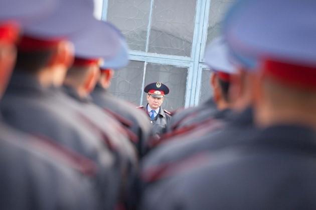 Казахстанским полицейским вернут жезлы