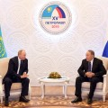 Президенты Казахстана иРоссии провели встречу