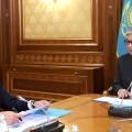 Президент дал поручения Аскару Мамину