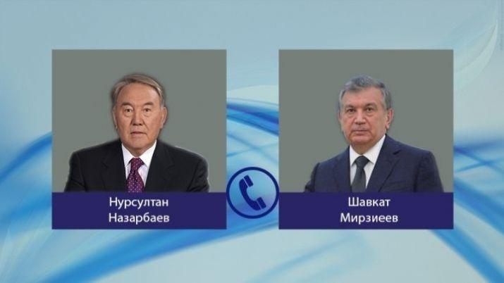 Мирзияев иНазарбаев обсудили развитие сотрудничества