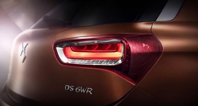 Citroen представили кроссовер DS 6WR