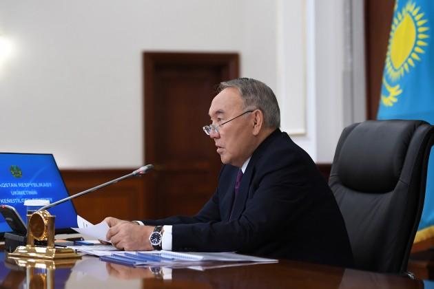 О чем говорил Президент РК на заседании Правительства