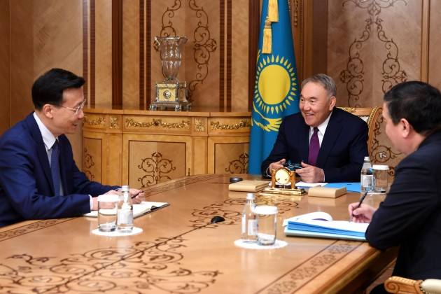 Нурсултан Назарбаев: Мы ценим плодотворное сотрудничество с КНР