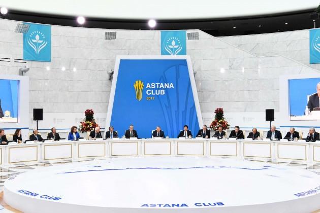 «Астана Клуб» соберет политиков иэкспертов из30стран