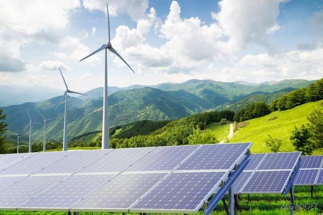 Энергия солнца и ветра обеспечит электричеством половину Земли к 2050 году