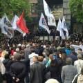 26 человек пострадали при захвате здания прокуратуры в Донецке