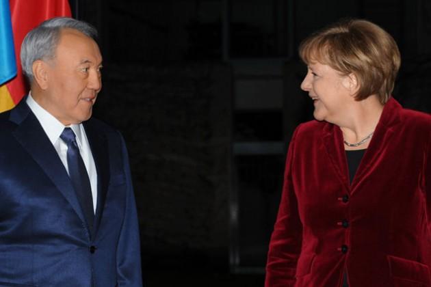 Президент РК встретился с Ангелой Меркель