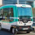 Беспилотный автобус с использованием сети 5G тестируют в Китае