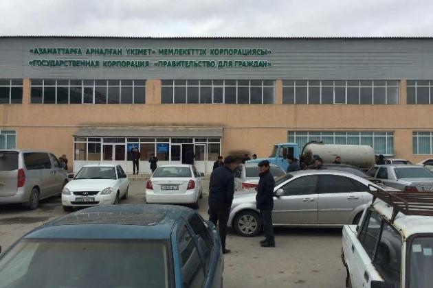 ВТуркестане открыт СпецЦОН для автовладельцев