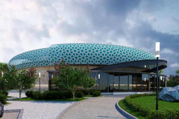 Завершить строительство амфитеатра в Туркестане планируется в октябре