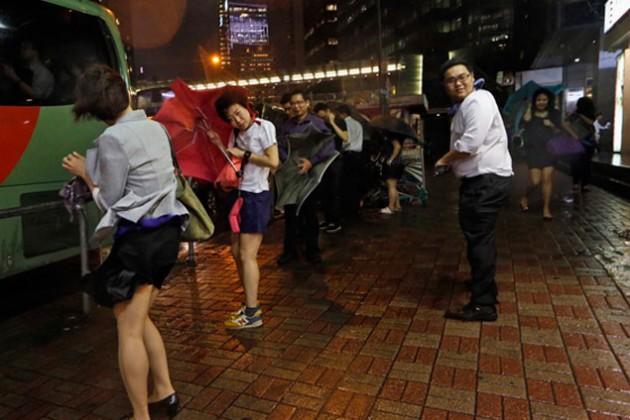 В Китае из-за тайфуна открыта горячая линия для казахстанцев