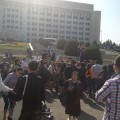 Дольщики компании Серт устроили акцию протеста