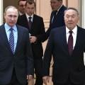 Владимир Путин поблагодарил ПрезидентаРК заорганизацию межсирийских переговоров