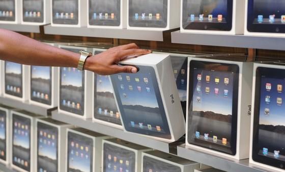 Apple удержала лидерство попоставкам планшетов