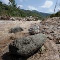 В горах сохраняется селевая опасность
