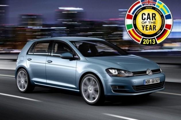 Volkswagen Golf стал лучшим автомобилем года в Европе