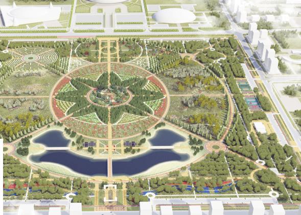 Кто разрабатывал концепцию Ботанического сада Астаны