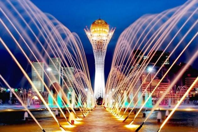 Праздничные мероприятия в Нур-Султане