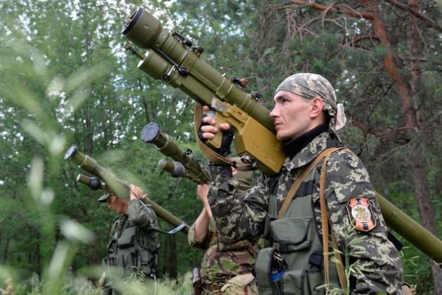 Россию обвинили в военной поддержке ополченцев Украины