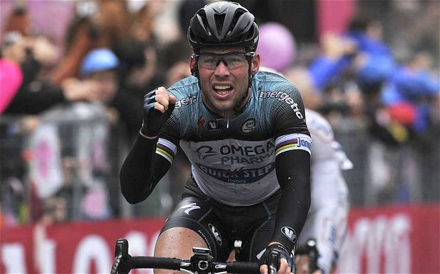 Колумбиец Ригоберто Уран выиграл разделку на Giro d'Italia