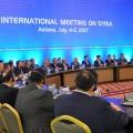 Шестой раунд переговоров поСирии пройдет вавгусте