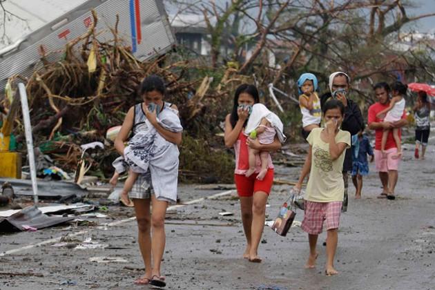 Жертвами тайфуна Хаян стали 1 833 человека