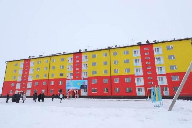 60семей вАктюбинской области отпраздновали новоселье