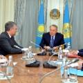 Президент Казахстана провел встречу спредседателем Госдумы России