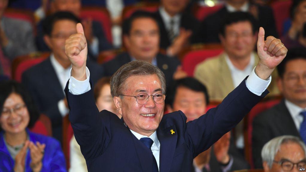 Экзит-поллы показали победу оппозиционера навыборах президента Южной Кореи