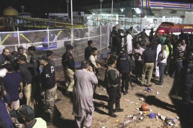 Число жертв теракта в Пакистане приблизилось к 70
