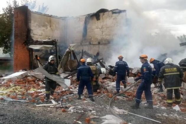 В Костанае при взрыве на СТО пострадали 7 человек