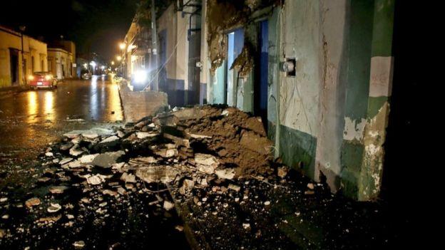 Землетрясение вМексике магнитудой практически 6 баллов: вторая встряска за2 дня