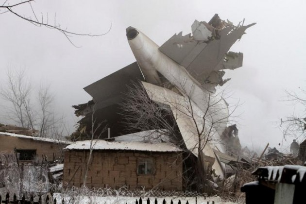 Стала известна причина катастрофы Boeing под Бишкеком