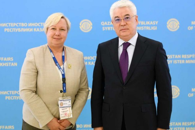 Глава миссии наблюдателей БДИПЧ/ОБСЕ положительно оценивает сотрудничество с Казахстаном