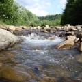 Расход воды в реке Талгар на безопасном уровне