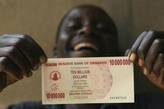 В Зимбабве началась полная ликвидация нацвалюты