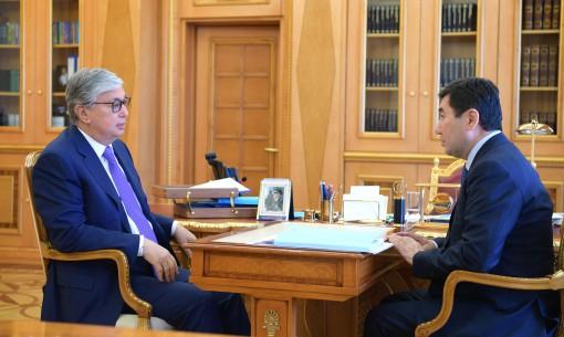Президент встретился с акимами трех областей