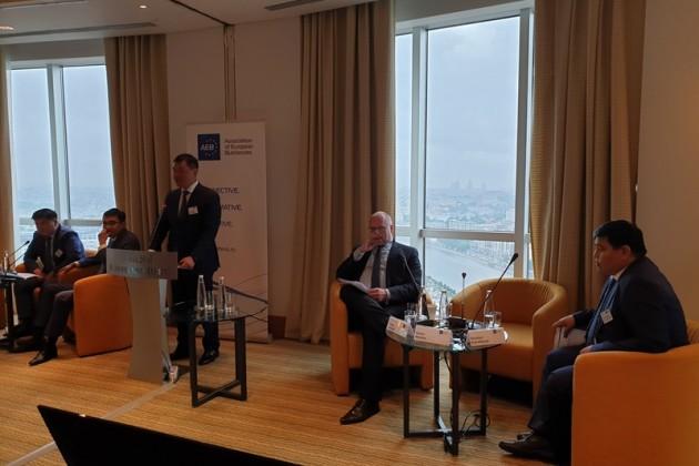 Европейскому бизнесу презентовали инвестиционный потенциал Казахстана