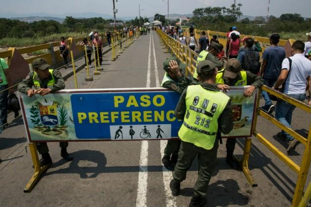 Венесуэла частично закрыла границу с Колумбией