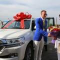 Bank RBK подарил автомобиль Дмитрию Баландину